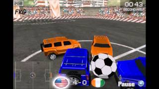 4x4 Soccer Gameplay !! Car Football Game ! | Funny Kid Games