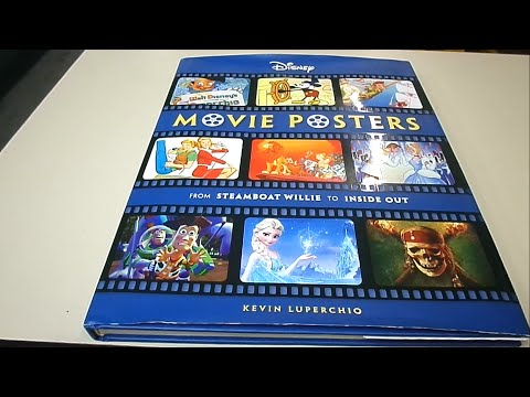 Review Livro Disney Movie Posters