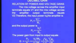 Lecture - 16 Frequency Response of Amplifiers