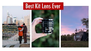 Fuji 18 55mm Kit Lens Review With SAMPLES
