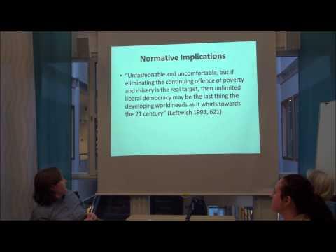 University of Gothenburg - Marina Nistotskaya -  Department of Political Science