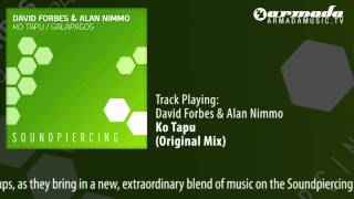 David Forbes & Alan Nimmo - Ko Tapu (Original Mix)