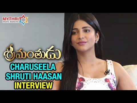 Charuseela Shruti Haasan Special Interview | Srimanthudu Movie | Mahesh Babu | Koratala Siva