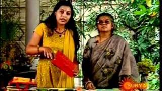 Karaviruthu ,surya tv sindhooram, Mrs Jaya ernakulam making Paper bag.