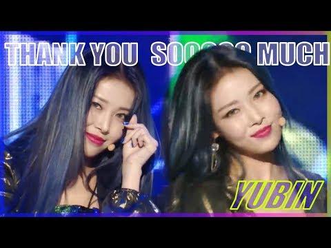 [HOT] Yubin -  Thank U Soooo Much, 유빈 - Thank U Soooo Much show Music core 20181208 Mp3