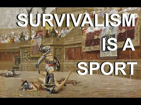 SHTF Prepping: Survival is the Ultimate Sport!