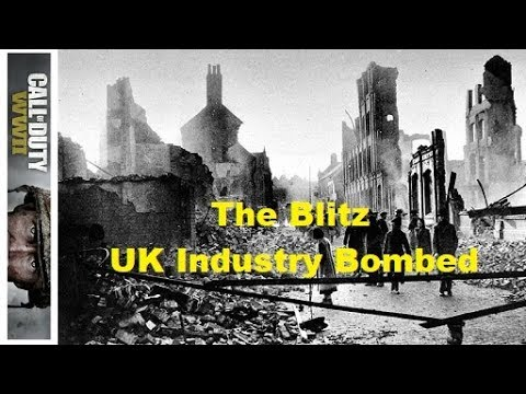 THE BLITZ: UK INDUSTRY BOMBED (FINN'S WAR TALES #24 WW II CODWWII)