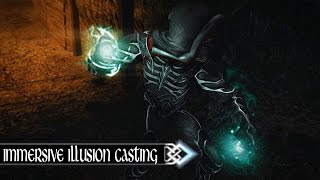 master of illusions immersive illusion casting   skyrim se gameplay mod