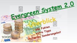 Evergreen System 2.0 von Said Shiripour im Überblick. Alle Module kurz vorgestellt + extra Tipps.