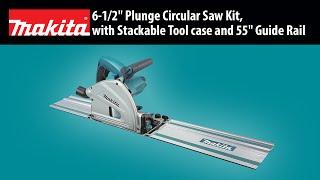 """MAKITA 6-1/2"""" Plunge Circular Saw, w/ tool case Thumbnail"""