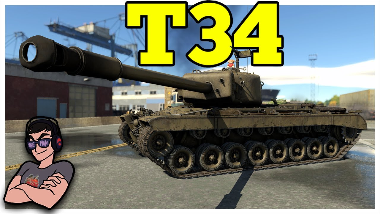 War Thunder - T34 - Pure American Muscle