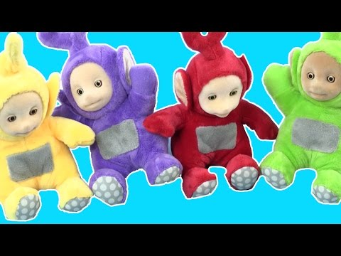 Dipsy, Teletubbies and Trolls Play with the Magic Teletubby Shopping Cart | Teletubbies Toys