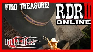 RDR2 Online - Finding Treasure in Red Dead Redemption 2
