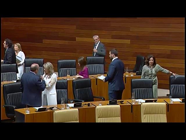 Sesión Constitutiva de la Asamblea de Extremadura en la X Legislatura, 18/6/19