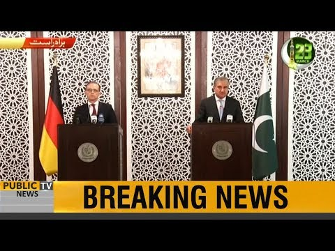 Foreign Minister Shah Mehmood Qureshi and German Foreign Minister Heiko Maas joint press conference