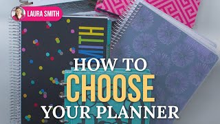 How to Choose a Planner Thumbnail