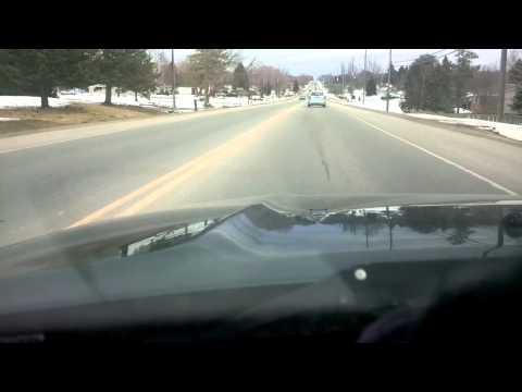 Athens Ontario to Brockville Ontario a short drive.