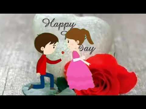 Happy 🌹 Rose Day Dosto Video Acha Laga To Like Plz