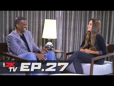 David Aldridge Shares His 2K Experience & Rachel Plays a Game of HORSE - NBA 2KTV S3. Ep.27