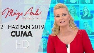 Müge Anlı ile Tatlı Sert 21 Haziran 2019 | Cuma - Sezon Finali