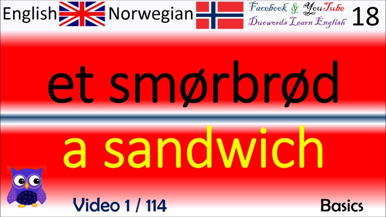 engelsk norsk ord