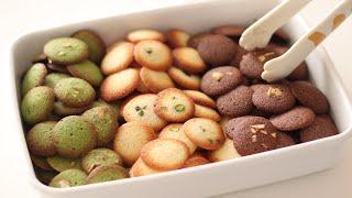 基本のラングドシャの作り方とラッピング Langue de chat バニラ・ココア・抹茶*卵白のお菓子|HidaMari Cooking