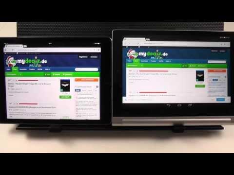 iOS vs. Android - Google Apps UI Comparison
