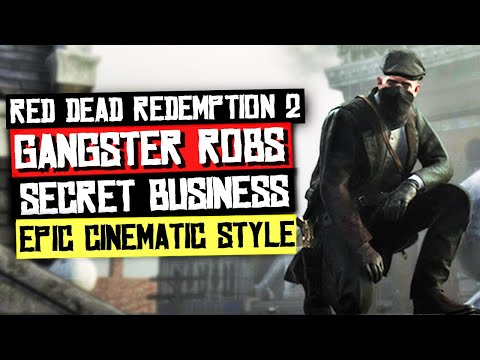 Gangster Robs A Saint Denis Business! - Red Dead Redemption 2 Cinematic Gameplay
