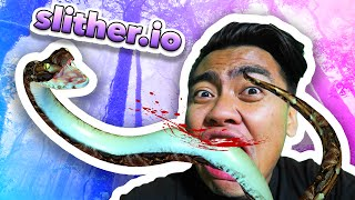 LEMME EAT YOUR SNAKE! | Slither.io