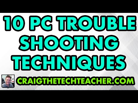 10 Basic Computer Troubleshooting Techniques with Q & A - Live!