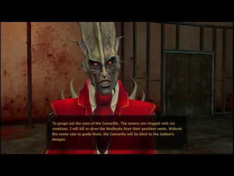Vampire The Masquerade: Bloodlines  A Malkavian meets Andrei