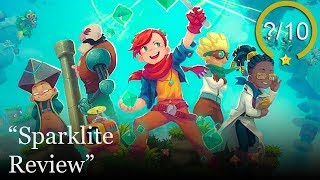 Sparklite Review [PS4, Switch, Xbox One, & PC] (Video Game Video Review)