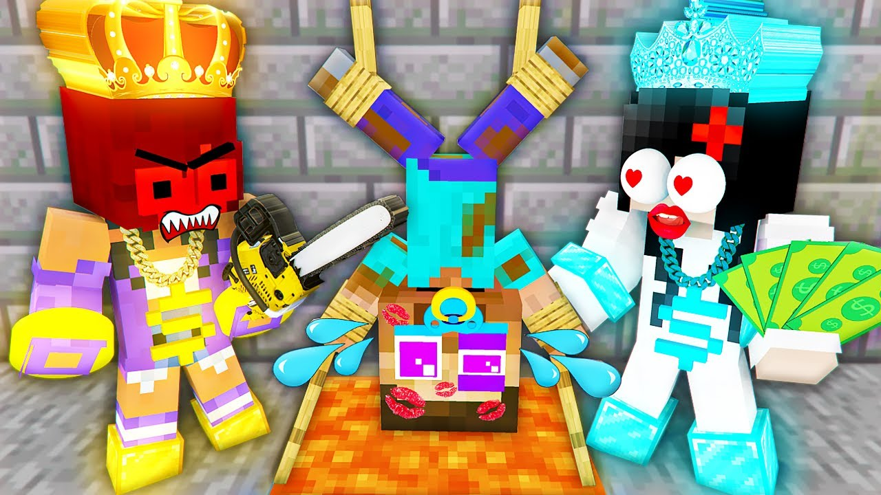 Monster School : POOR Good Baby Herobrine Love Curse RICH Bad Girls - Sad Story Minecraft Animation