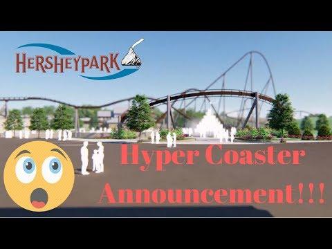 Hershey Park Chocolatetown 2020 Announcement  Animation