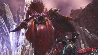 Monster Hunter World: Arch-Tempered Teostra Boss Fight (Solo / Dual Blades)