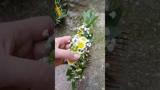 Букет и аксессуары для невесты