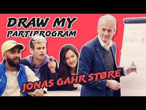 Draw My Political Program - Jonas Gahr Støre