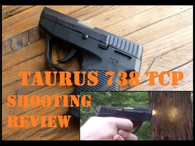 Taurus PT 738 TCP Shooting Review: GREAT Mouse Gun! 10k rounds reliable