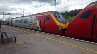 Trains at Milton Keynes Central WCML 2/7/16