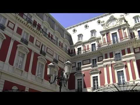 L'hôtel du palais à Biarritz