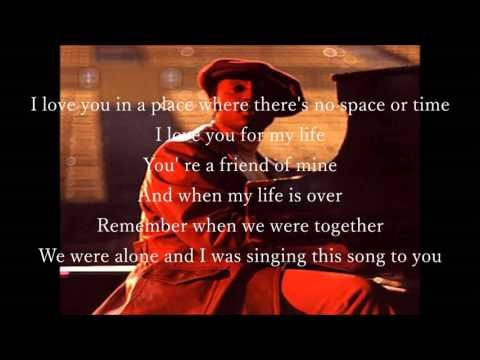 Donny Hathaway  A Song For You karaoke