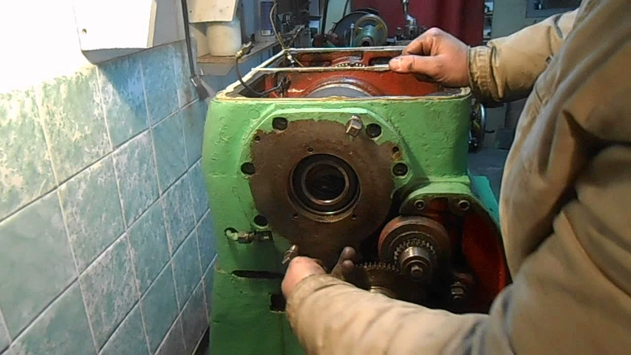 Шпіндель токарного верстата 1А616, невеликий ремонт.