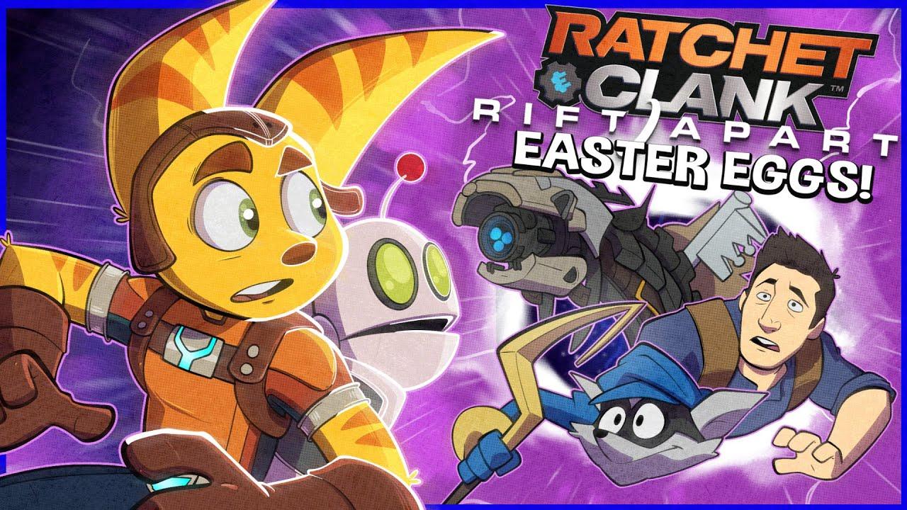 RATCHET & CLANK: RIFT APART - 30 Easter Eggs, Secrets & Hidden Details