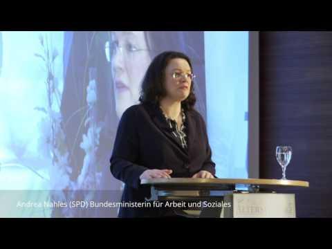 Andrea Nahles ist offen für neue Ideen