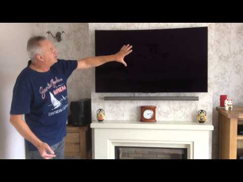 Lg Oled Tv Wall Mounting Youtube