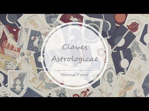 開箱  星域之匙占星神諭卡 • Claves Astrologicae // Nanna Tarot