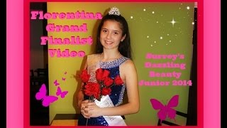Florentina Surrey's Dazzling Beauty Junior - Grand Finalist Video Thumbnail
