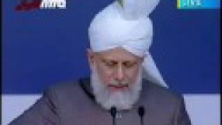 Address By Hadhrat Khalifatul Masih V Jalsa Uk 2008 part7\10