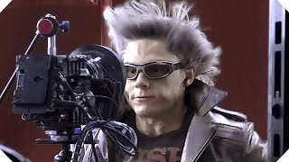 X-MEN APOCALYPSE - La Meilleure Scène du Film avec Quicksilver ! (Making of)