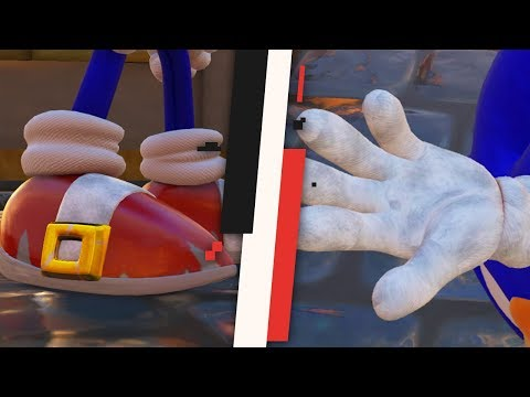 Sonic Forces - Realistic Sonic